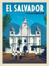"""EL SALVADOR Photo Flexible Fridge Magnet 2""""x 3"""""""