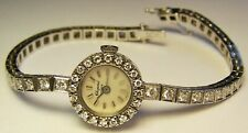 LUC Chopard 18K 750 Gold 63 Brillanten lupenrein Damen Armbanduhr Happy Diamond