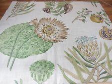 Sanderson Floral Fabric Sample - Lilybank