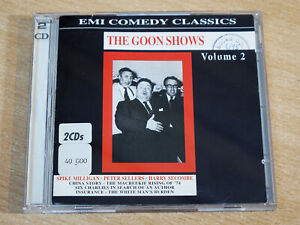 The Goons/The Goon Show Volume 2/1990 EMI 2x CD Album
