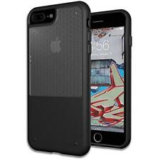 Trident Fusion Case for iPhone 7 Plus Matte Black Transparent Shock Absorbi