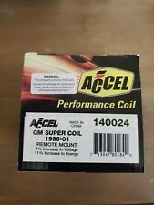 Accel 140024ACC Ignition Coil Black/ Yellow