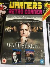 Wall Street 1 And 2 Set Movie Film 🎥 blu ray region B
