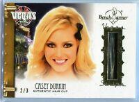CASEY DURKIN 2020 BENCHWARMER VEGAS BABY HAIR CUT CARD GOLD FOIL /3