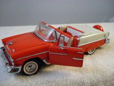 1955 Chevrolet Bel Air Convertible  Franklin  Mint  1/24 scale NIB  COA