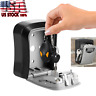 Wall Mount Key Box Hider Home Security Digit Combination Lock Safe Storage Alloy
