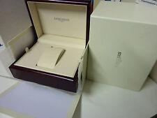 longines box scatola orologio uhrenbox