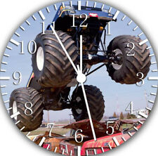 Big Truck Frameless Borderless Wall Clock Nice For Gifts or Decor E309