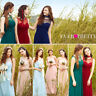Ever-Pretty Maxi Bridesmaid Wedding Mesh Gown Long Evening Formal Dresses 08761