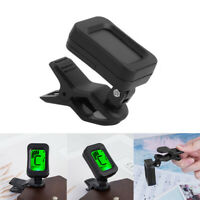 Digital LCD Electric Tuner Clip On For Chromatic Bass Guitar Ukulele Violin