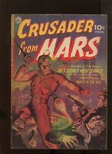CRUSADER FROM MARS #1 (5.0) CLASSIC COVER