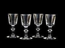 Steuben Crystal #7725 Cordial Liqueur Glasses Mint!