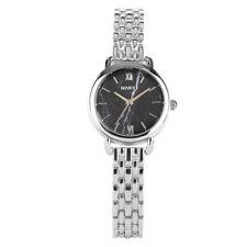 Новые женские кварцевые наручные часы, модные, браслет из нержавеющей стали браслет аналоговый подарок