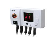 Steuerung CS-77C für 2 Pumpen von Heizkessel, Fußbodenheizung bzw. Brauchwasser