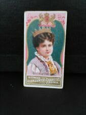 ALLEN & GINTER CIGARETTE CARD WORLD'S SOVEREIGNS 125+ YRS OLD!