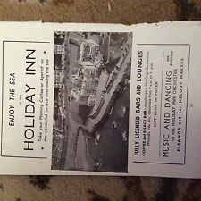 75-5 ephemera advert 1963 ilfracombe holiday inn eleanor and her melody makers