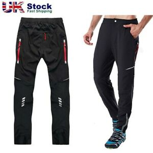 Outdoor Cycling Trousers Men's Sportswear Clothing Mountain Bike Windproof Pants