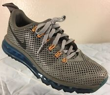 Nike AIR MAX MOTION 2013 Running Athletic 104564113 BLUE GRAY YELLOW Mens 8.5 US