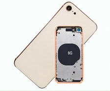 Gold For iPhone 8 Back Rear Chassis Frame Motherboard Housing Battery Door +Logo