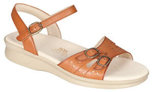 SAS Duo Sandal Antique Tan 9 Wide, Women's Shoes