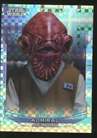 Topps Star Wars Chrome 79/99 ADMIRAL ACKBAR Card #14-F XFRACTOR