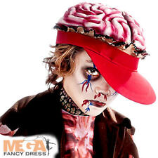 Brain Hat Zomboy Kids Fancy Dress Halloween Boys Child Zombie Costume Accessory