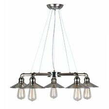 Forte Lighting 5 Light Chandelier, Vintage Chrome - 7059-05-69