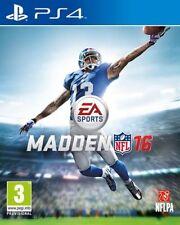 Sony PlayStation 4 PAL American Football Video Games