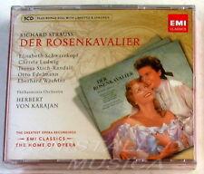 Strauss, DER ROSENKAVALIER - SCHWARZKOPF, LUDWIG - VON KARAJAN - 3CD Sigillato