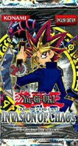 Yugioh Card Game | Invasion of Chaos Booster Pack