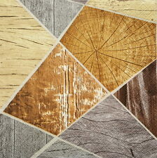 Wooden Mosaic for Decoupage Party Craft 4 Lunch Paper Napkins
