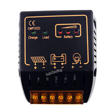 Solar Charge Controller Regulator 10A 12V 24V Auto for 100W Solar Panel System