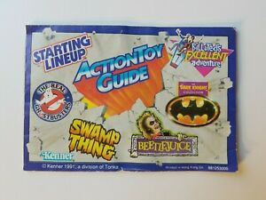 Vintage 1991 Kenner Action Toy Guide Mini Catalog Product Guide Booklet