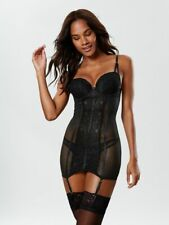Ann Summers Womens Sexy Lace 2 Cami Suspender Underwire Sexy Hosiery Lingerie