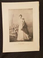 The Girl-Queen - Queen of the Netherlands - 1897 Book Print