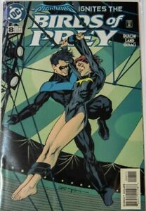 Birds of Prey #8 Key Issue 1st Nightwing and Oracle Relationship