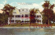 Belle Isle, Thousand Islands, Ny. A. R. Peacock Residence