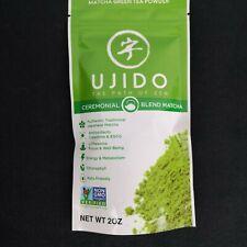 Ujido Ceremonial Blend Matcha Blend of 1st and 2nd Harvest 2 Oz