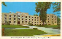 Indianapolis Indiana 1960s Postcard Women's Residence Hall Butler University