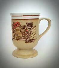 Vintage Reno Nevada Tan Coffee Cup