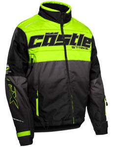 Castle X Strike G3 Jacket Mens Snowmobile Hi-Vis/Black