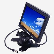 2 canaux couleur TFT LCD Moniteur de voiture inverse Parking caméra de recul FU