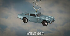'63 Aston Martin DB5 James Bond 007 Goldfinger Christmas Ornament 1/64 Adorno
