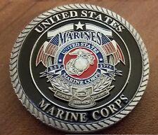 United States Marine Corp Devil dog challenge coin Semper Fidelis