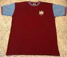 West Ham United - Score Draw Wembley 1975 / #4 Retro Football Shirt Sz XL WHU