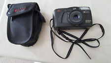 Vintage Ricoh Shotmaster 110-ZP Zoom Lens F38-110 Date Camera & Padded Case Used