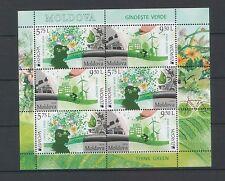 "Moldova 2016 CEPT Europa ""Think Green"" Booklet"