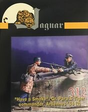 "Jaguar 1/35 ""Have a Smoke"" German Para & Tiger Commander Ardennes 1944 JAG-63111"