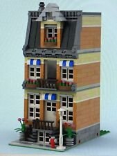LEGO CUSTOM INSTRUCTIONS MOC - MODULAR TOWNHOUSE MODEL B1 - PDF MANUAL