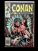 CONAN THE BARBARIAN VOL.1 #186 MARVEL COMICS 1986 VF (1970-1994 SERIES)